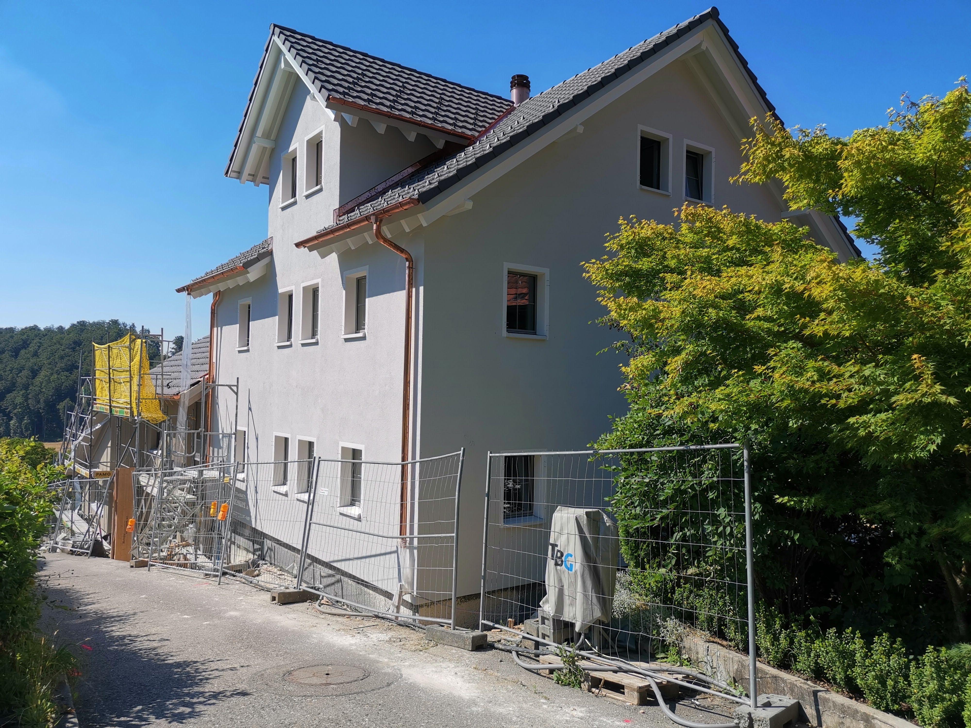 Ersatzbau Bauernhaus in Gränichen